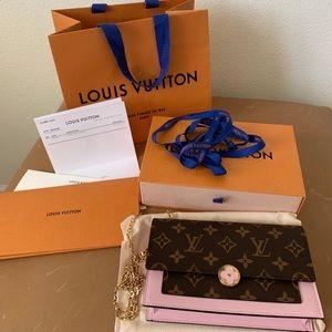 Louis Vuitton Flore Chain Wallet